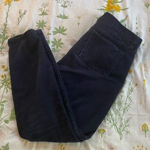 J. Crew Factory Pants & Jumpsuits - J. Crew Navy Corduroy Pants
